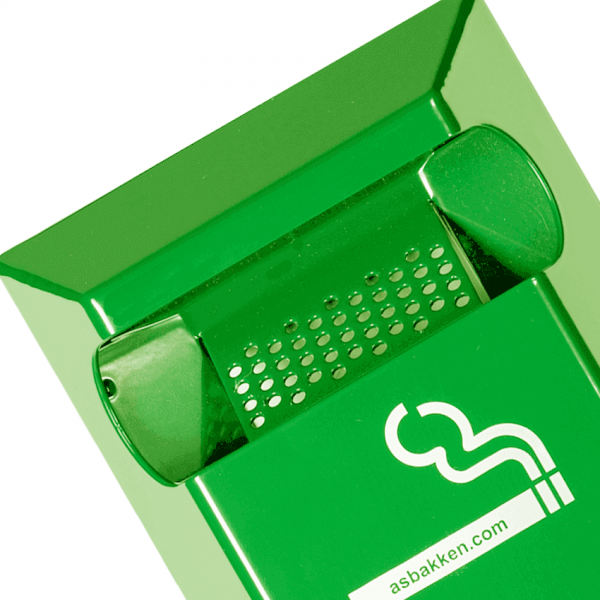 wandasbak groen ral 6018 detail